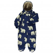 Smafolk - Kid's Snowsuit, 2 Zipper Polarbear - Haalarit