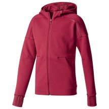 adidas - Girl's Z.N.E. 2.0 Pulse Full Zip Hoodie - Fleece jacket
