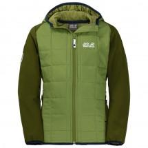 Jack Wolfskin - Boy's Grassland Hybrid Jacket - Syntetisk jakke