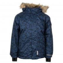 Minymo - Kid's Snow Jacket Herringbone All over Print - Talvitakki