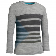 Icebreaker - Kids Tech T Lite LS Striation - Longsleeve