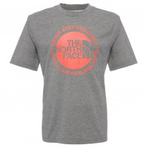 The North Face - Boy's S/S Circle Logo Reaxion Tee - T-shirt