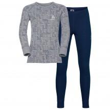 Odlo - Set Shirt L/S Pants Long Warm Kids