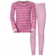 Odlo - Set Shirt L/S Pants Long Warm Kids - Underkläder syntet
