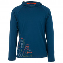 Icebreaker - Kids LS Hoody All In A Day - Manches longues