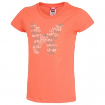 The North Face - Girl's SS Butterfly Tee - T-paidat