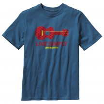 Patagonia - Boy's Live Simply Guitar T-Shirt