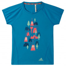 Adidas - Girl's Print Tee - T-shirt