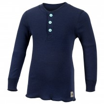 Aclima - Kid's WW Granddad Shirt Children - Merino trui