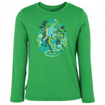 Icebreaker - Kid's Tech LS Crewe Wilderness - Merinoshirt