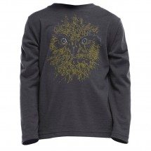 Icebreaker - Kid's Tech LS Crewe Morepork - Long-sleeve