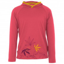 Icebreaker - Kid's Tech LS Hood Passion Vines