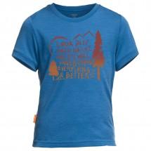 Icebreaker - Kid's Tech Lite SS Camp - T-shirt
