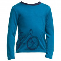 Icebreaker - Kid's Tech LS Crewe Ride - Longsleeve