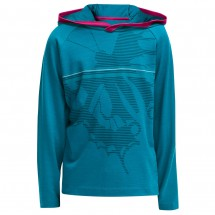 Icebreaker - Kid's Tech L/S Hood Swallow Tail