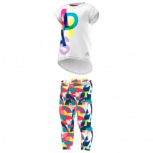 adidas - Kid's Mini Me Tight Set - T-Shirt