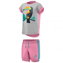 adidas - Kid's Summer Tropic Graphic Set - T-Shirt