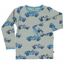 Smafolk - Kid's Car T-Shirt L/S - Long-sleeve