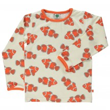 Smafolk - Kid's Fish T-Shirt L/S - Manches longues