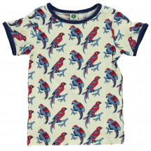 Smafolk - Parrots T-Shirt S/S - T-shirt
