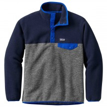 Patagonia - Boys' Lightweight Synchilla Snap-T Pullover - Fleece jumper