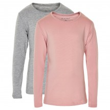 Minymo - Kid's Basic 35 T-Shirt L/S (2-Pack) - Longsleeve