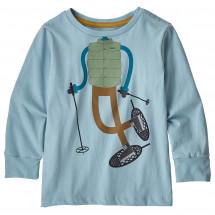 Patagonia - Kid's L/S Graphic Organic T-Shirt - Longsleeve