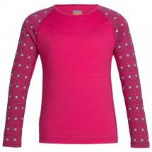 Icebreaker - Kids Oasis L/S Crewe Align - Merino underwear
