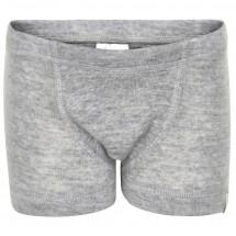 CeLaVi - Boy's Boxer Shorts Solid Wool - Merinovilla-alusvaa