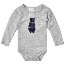 CeLaVi - Kid's Body L/S With Front Print Wool
