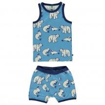 Smafolk - Boy Underwear Wool Polarbear - Merinovilla-alusvaa