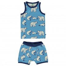 Smafolk - Boy Underwear Wool Polarbear - Merinounterwäsche