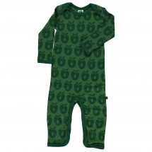 Smafolk - Kid's Body Suit L/S Merino - Merinovilla-alusvaatt