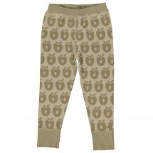 Smafolk - Kid's Leggins Wool Apples - Merino ondergoed
