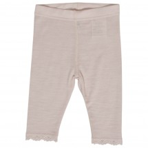 Hust&Claire - Leggings Wool Silk Rose - Merinovilla-alusvaat