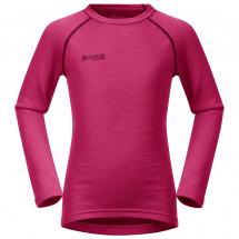 Bergans - Kid's Akeleie Shirt - Merino base layer