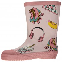 Smafolk - Kid's Rubber Boots With Food Print - Gummistövlar