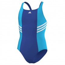 adidas - Girl's BTS 3S Suit - Swimsuit