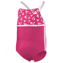 adidas - Infant's 3S One Piece Kid's Girls - Badeanzug