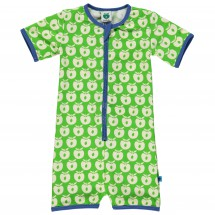 Smafolk - Kid's Cream Apples Suit S/L Baby - Badeanzug
