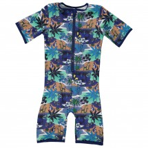 Smafolk - Kid's Jungle Suit S/L - Swimsuit
