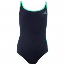 adidas - 3 Stripes One Piece Youth - Badeanzug