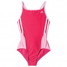 adidas - Back To School Suit 3 Stripes Girls - Maillot de ba