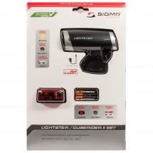 Sigma - Leuchtenset Lightster & Cuberider II - Bike lights