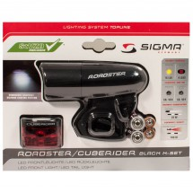 Sigma - Leuchtenset Roadster & Cuberider - Radleuchten