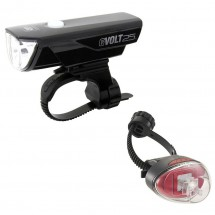 CatEye - Gvolt25/Rapid1G EL360GRC/LD611G - Bike light set