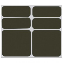 Shaman Racing - Reflective sticker set 6-Pack - Autocollant