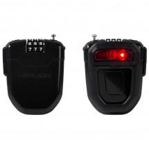 Hiplok - FLX Wearable Retractable Combi Lock incl. Light - Veloschloss