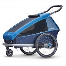 Croozer - Kid Plus for 2 - Polkupyörän lapsiperäkärryt