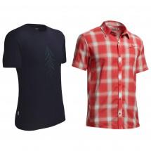 Icebreaker - Hemden-Set - Departure SS Shirt & Tech Lite